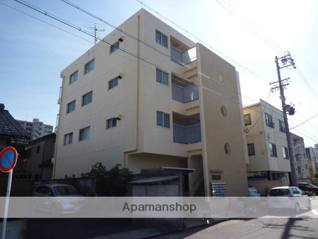 愛知県名古屋市北区、大曽根駅徒歩13分の築38年 4階建の賃貸マンション