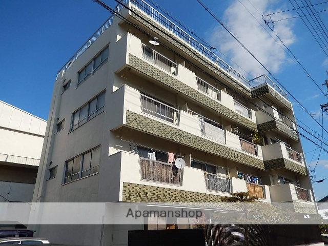 愛知県名古屋市北区、上飯田駅徒歩13分の築33年 4階建の賃貸マンション