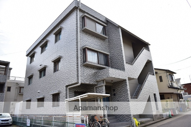 愛知県名古屋市守山区、新守山駅徒歩15分の築23年 3階建の賃貸マンション