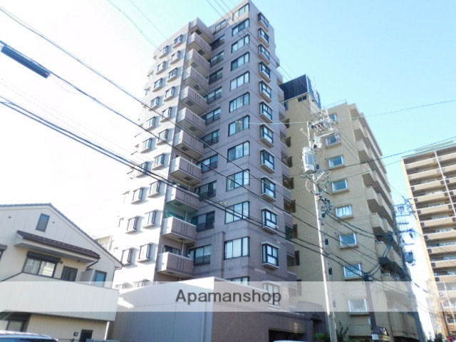 愛知県名古屋市東区、大曽根駅徒歩10分の築26年 13階建の賃貸マンション
