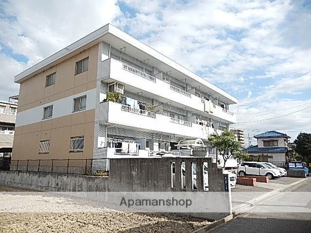 愛知県名古屋市守山区、新守山駅徒歩4分の築29年 3階建の賃貸マンション