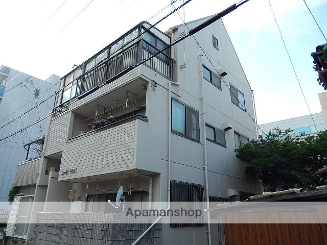 愛知県名古屋市北区、大曽根駅徒歩10分の築25年 3階建の賃貸マンション