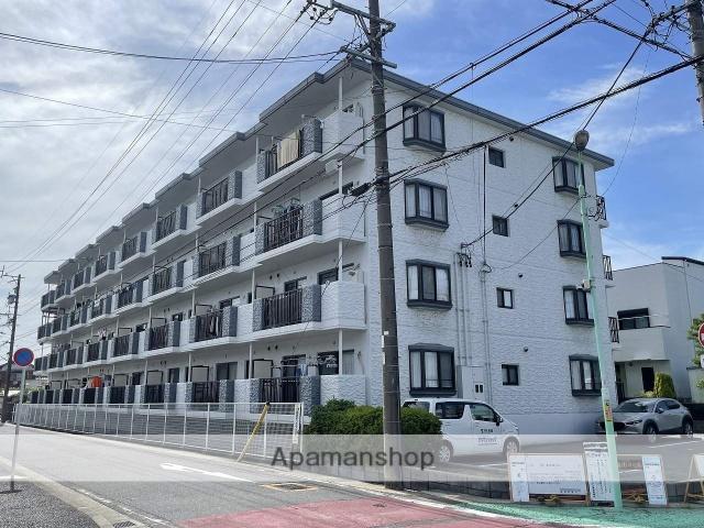 愛知県名古屋市守山区、大森・金城学院前駅徒歩13分の築27年 4階建の賃貸マンション