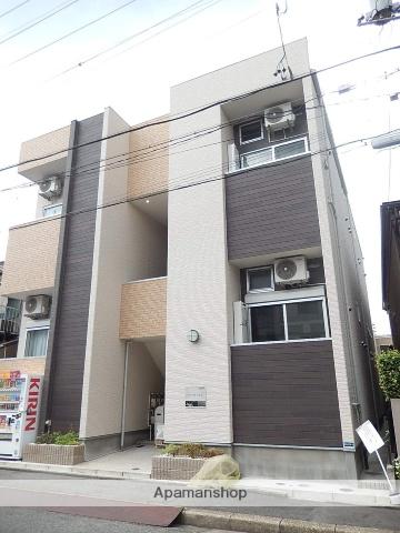 愛知県名古屋市北区、尼ヶ坂駅徒歩5分の築2年 2階建の賃貸アパート