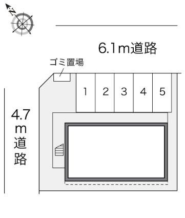 レオパレススウィートハート[1K/19.87m2]の内装1