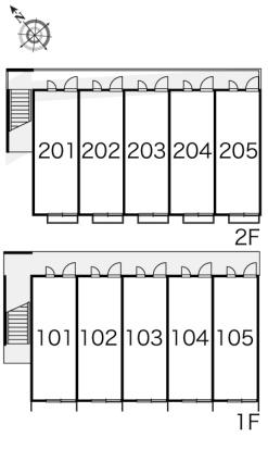 レオパレススウィートハート[1K/19.87m2]の内装2