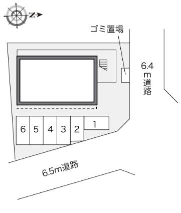 レオパレス常[1K/19.87m2]の内装1