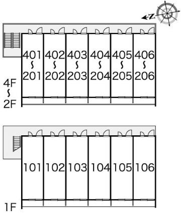 レオパレスニューセレッソ[1K/20.81m2]の内装2