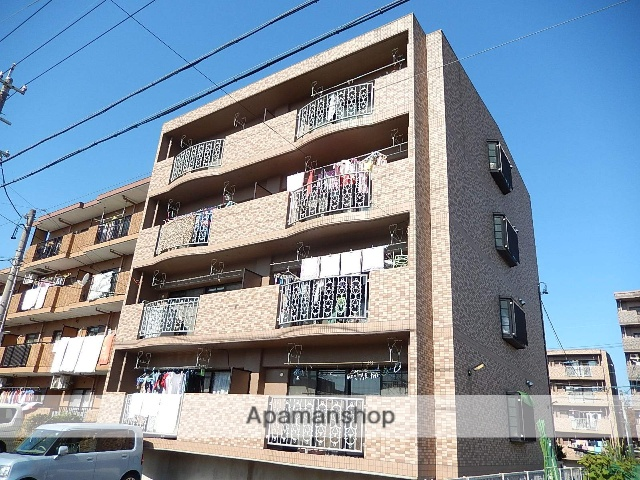 愛知県名古屋市北区、比良駅徒歩20分の築21年 4階建の賃貸マンション