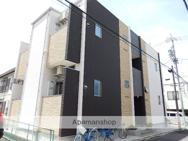 愛知県名古屋市北区、森下駅徒歩11分の築1年 2階建の賃貸アパート
