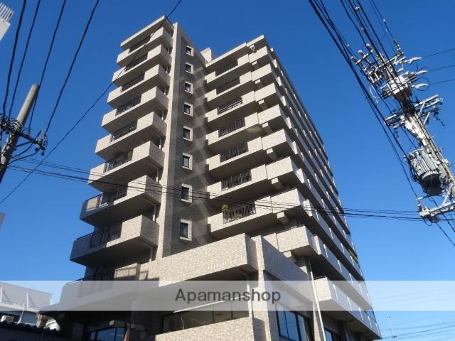 愛知県名古屋市東区、清水駅徒歩13分の築25年 11階建の賃貸マンション