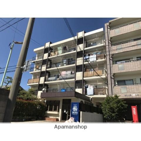 愛知県名古屋市北区、上飯田駅徒歩4分の築39年 5階建の賃貸マンション