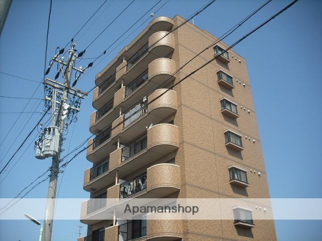 愛知県名古屋市守山区、新守山駅徒歩7分の築20年 8階建の賃貸マンション