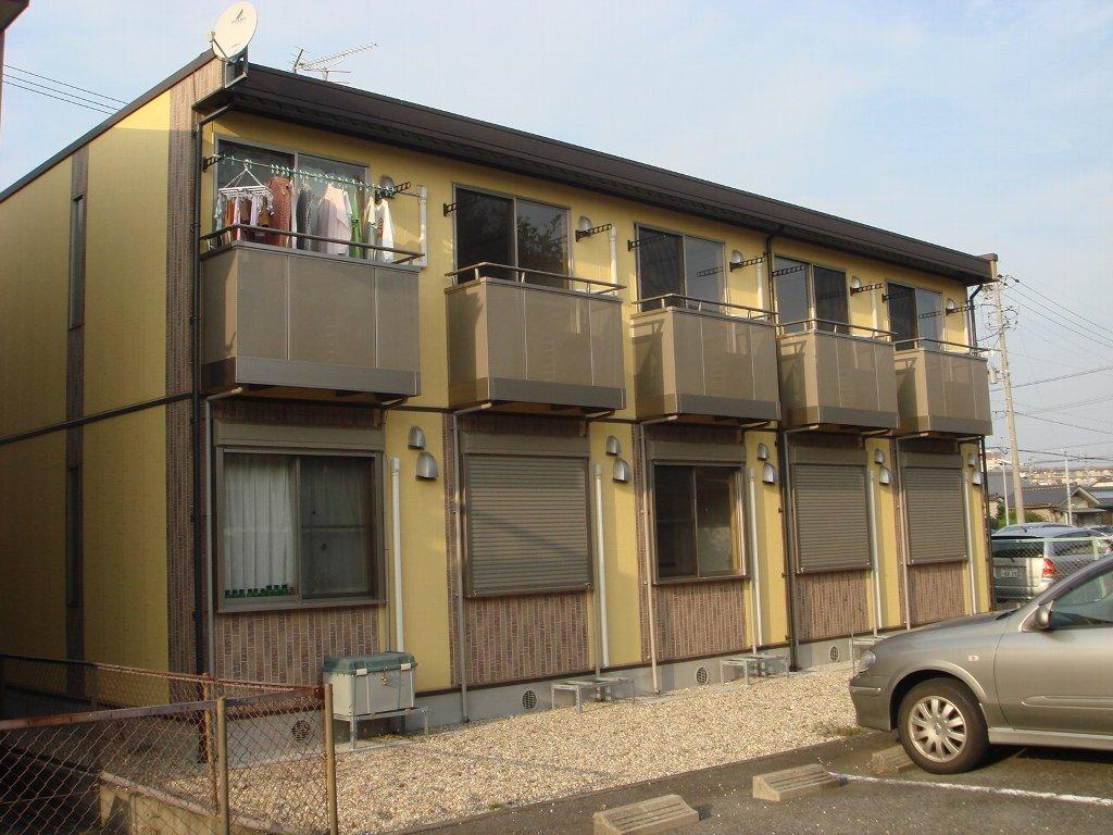 愛知県名古屋市北区、味鋺駅徒歩23分の築10年 2階建の賃貸アパート