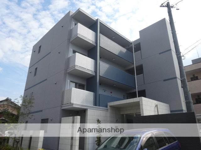 愛知県名古屋市北区、上飯田駅徒歩14分の築3年 4階建の賃貸マンション