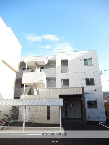 愛知県名古屋市守山区、守山自衛隊前駅徒歩4分の築2年 3階建の賃貸マンション