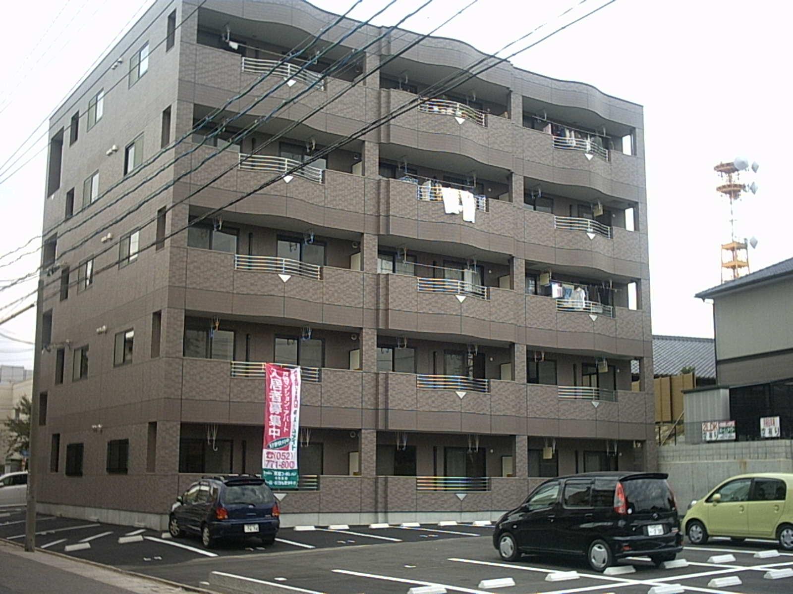 愛知県名古屋市北区、志賀本通駅徒歩41分の築13年 5階建の賃貸マンション