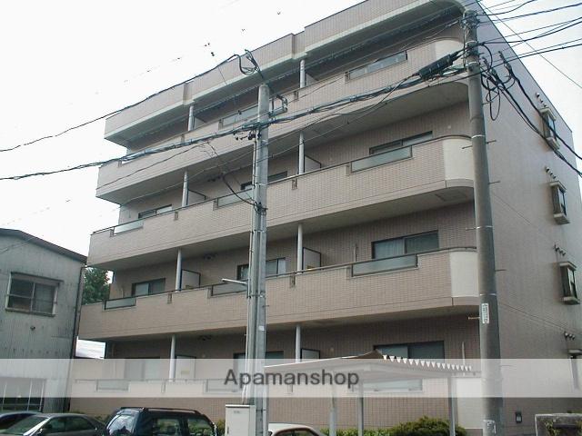 愛知県名古屋市北区、上飯田駅徒歩11分の築23年 4階建の賃貸マンション