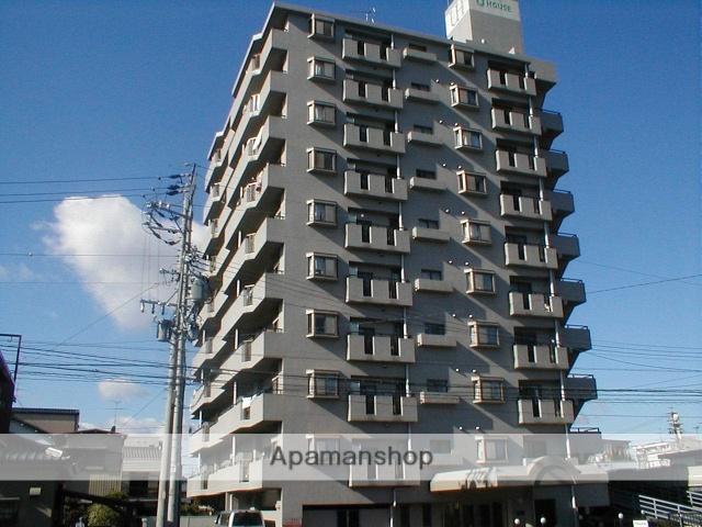 愛知県名古屋市北区、尼ヶ坂駅徒歩12分の築23年 10階建の賃貸マンション