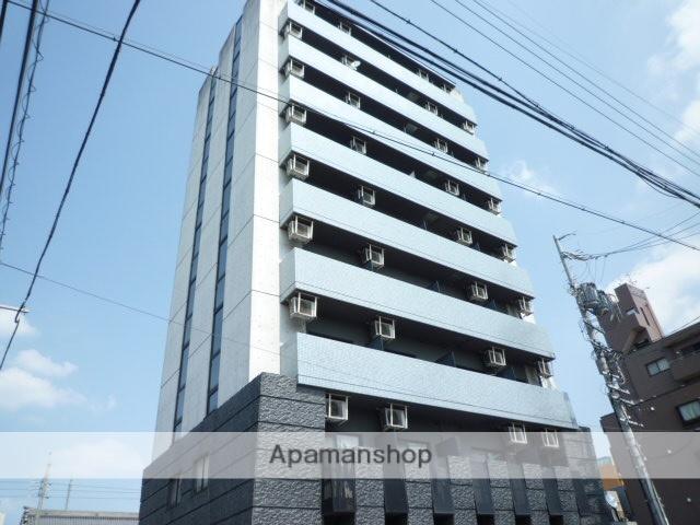 愛知県名古屋市北区、志賀本通駅徒歩18分の築17年 9階建の賃貸マンション