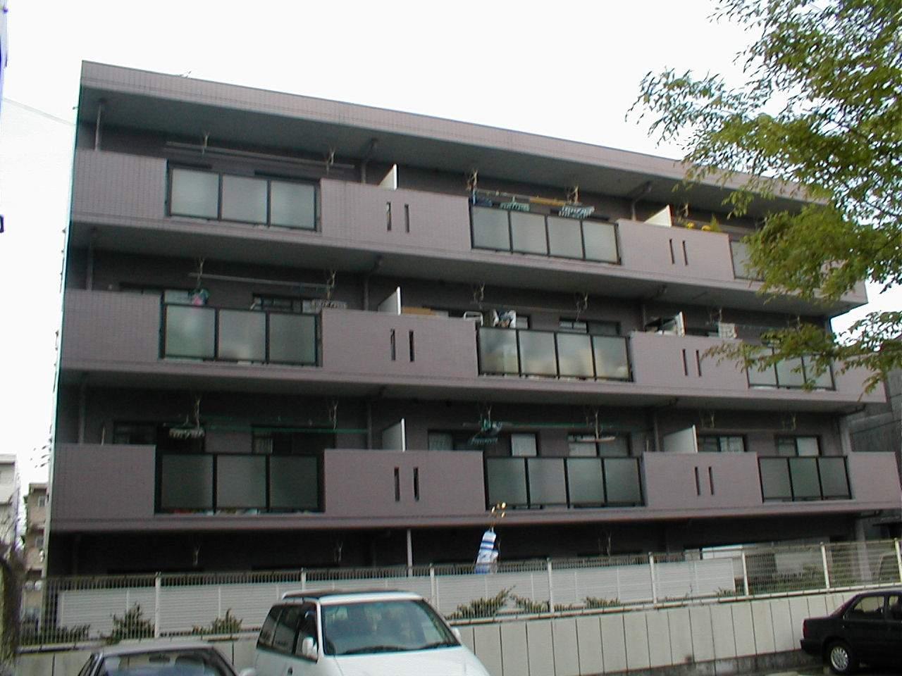 愛知県名古屋市守山区、新守山駅徒歩10分の築23年 4階建の賃貸マンション