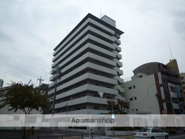 愛知県名古屋市東区、新栄町駅徒歩12分の築27年 11階建の賃貸マンション