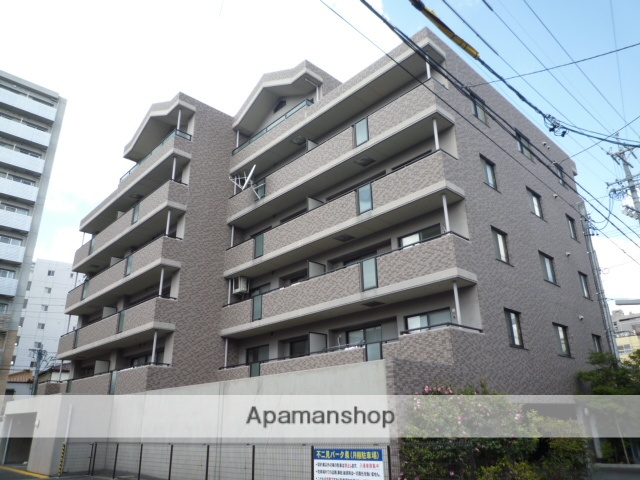 愛知県名古屋市東区、新栄町駅徒歩8分の築17年 6階建の賃貸マンション