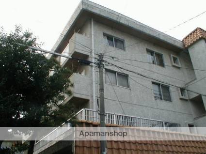 愛知県名古屋市東区、新栄町駅徒歩13分の築22年 4階建の賃貸マンション