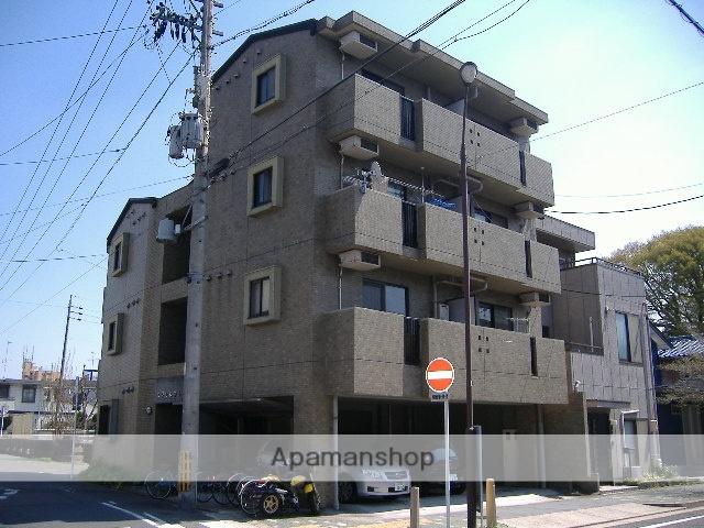 愛知県名古屋市東区、千種駅徒歩17分の築22年 4階建の賃貸マンション