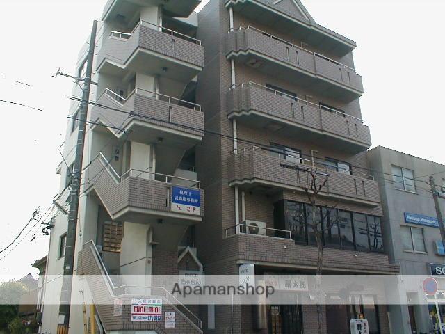 愛知県名古屋市東区、新栄町駅徒歩12分の築29年 5階建の賃貸マンション