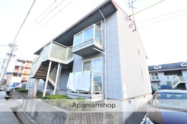 愛知県名古屋市守山区、小幡駅徒歩10分の築26年 2階建の賃貸アパート