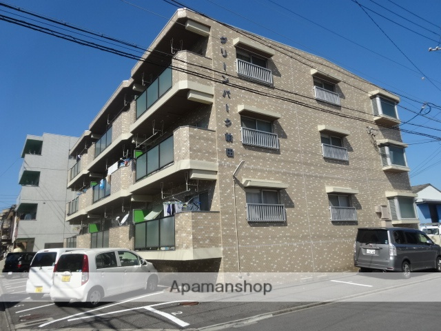 愛知県名古屋市守山区、新守山駅徒歩6分の築28年 3階建の賃貸マンション
