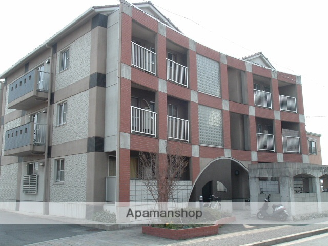 愛知県名古屋市守山区、新守山駅徒歩15分の築22年 3階建の賃貸マンション