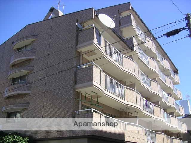 愛知県名古屋市北区、上飯田駅徒歩10分の築28年 6階建の賃貸マンション