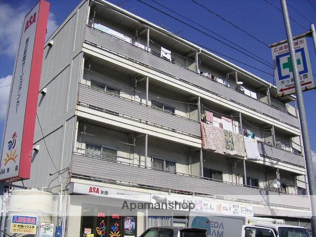 愛知県名古屋市東区、ナゴヤドーム前矢田駅徒歩9分の築40年 4階建の賃貸マンション