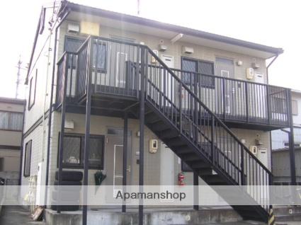愛知県名古屋市東区、千種駅徒歩14分の築20年 2階建の賃貸アパート