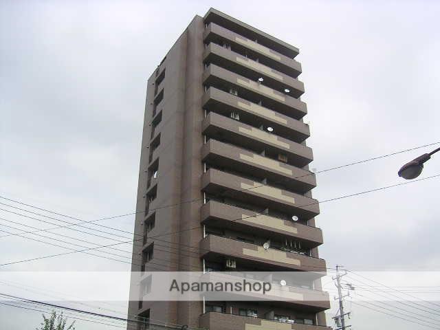 愛知県名古屋市東区、清水駅徒歩12分の築17年 14階建の賃貸マンション