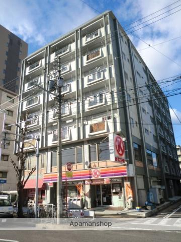 愛知県名古屋市北区、平安通駅徒歩1分の築27年 7階建の賃貸マンション