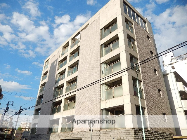 愛知県名古屋市北区、森下駅徒歩8分の築21年 8階建の賃貸マンション