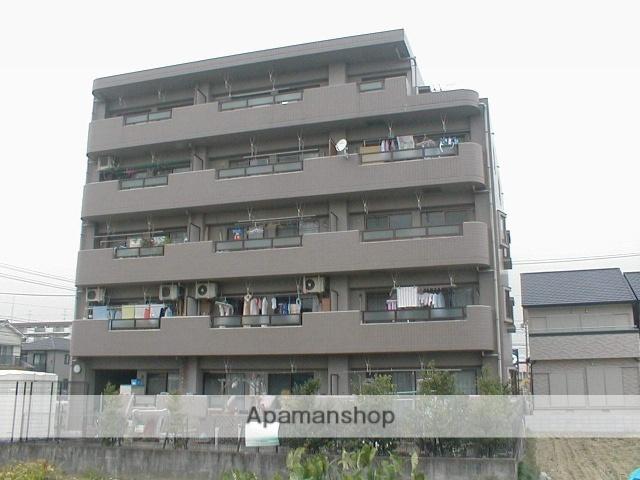 愛知県名古屋市北区、味鋺駅徒歩16分の築23年 5階建の賃貸マンション