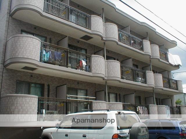 愛知県名古屋市北区、上飯田駅徒歩6分の築17年 3階建の賃貸マンション