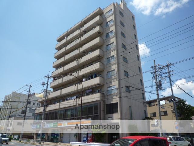 愛知県名古屋市東区、東大手駅徒歩13分の築38年 9階建の賃貸マンション