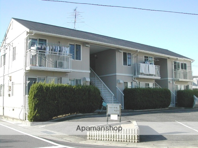 愛知県名古屋市北区、比良駅徒歩5分の築27年 2階建の賃貸アパート
