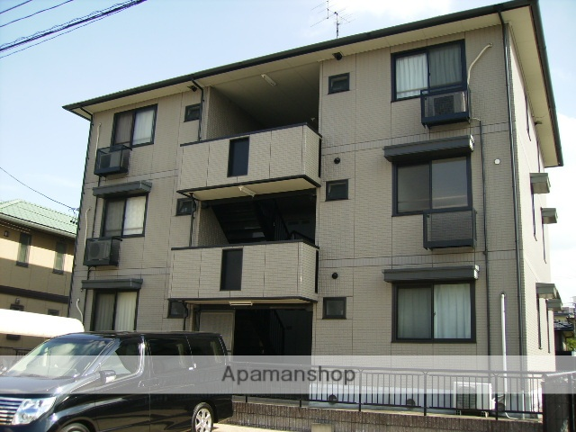 愛知県名古屋市北区の築16年 3階建の賃貸アパート