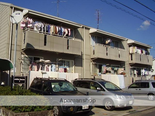 愛知県名古屋市守山区、新守山駅徒歩18分の築28年 2階建の賃貸アパート
