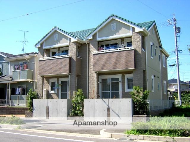 愛知県春日井市、高蔵寺駅徒歩16分の築14年 2階建の賃貸アパート