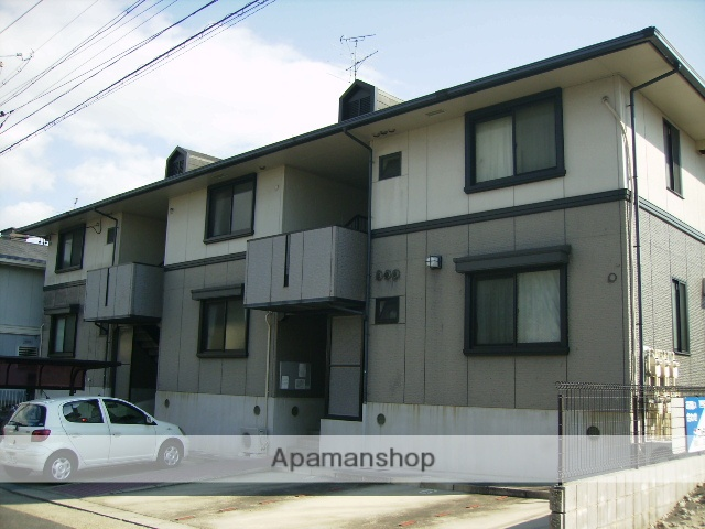 愛知県名古屋市守山区の築18年 2階建の賃貸アパート