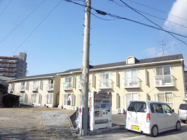 愛知県瀬戸市、新瀬戸駅徒歩7分の築27年 2階建の賃貸アパート