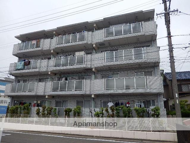 愛知県名古屋市守山区、新守山駅徒歩2分の築28年 4階建の賃貸マンション