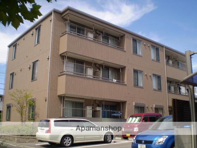 愛知県名古屋市守山区、喜多山駅徒歩18分の築10年 3階建の賃貸アパート